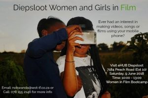 Wot-If? Trust call to action for Mobile Filmmaking for Women and girls