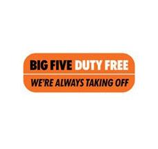 Big Five Duty Free Logo