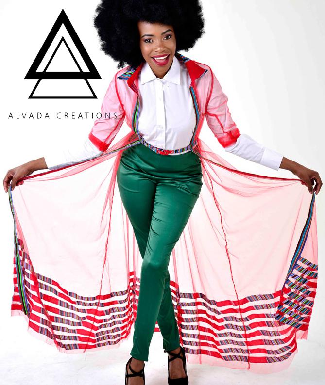 Salva mesh dress by Alvada Creations