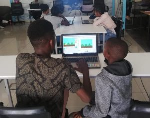 Ericsson Digital Lab Game Development Module, teaching coding to kids