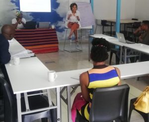 Business PR and Branding workshop for Kasi Creative Propeller participants