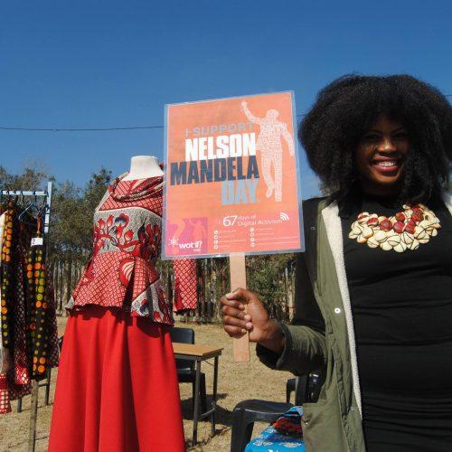 ESD Mandela Day market for Diepsloot small businesses