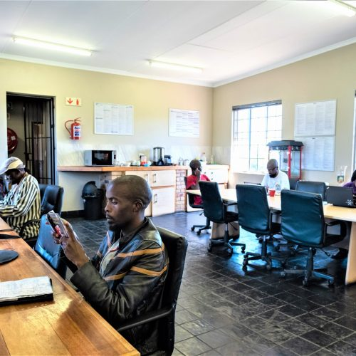 ESD co-working space for Diepsloot small businesses