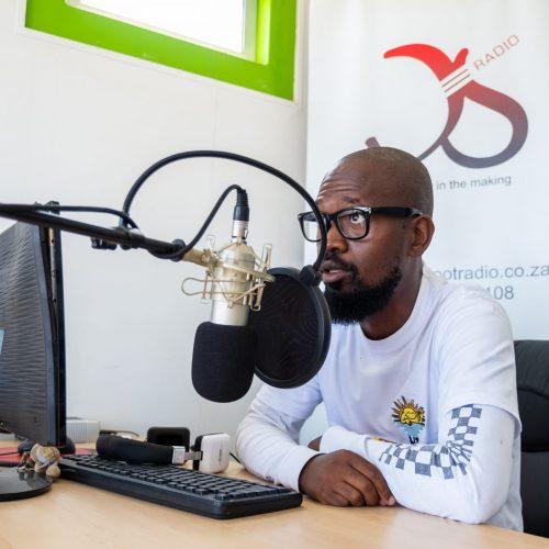 ESD Diepsloot Radio studio at FLBC Diepsloot